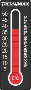 Neue temperaturanzeigende Etiketten von Brady