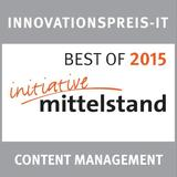 Innovationspreis IT: SixCMS ist BEST OF 2015