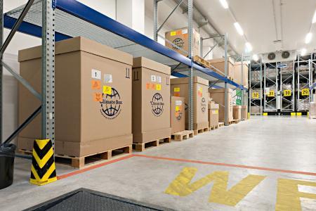 Pharmaserv Logistics Kühllager