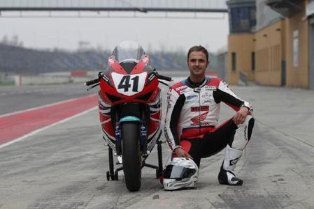 Mit der Nummer 41 in die Rennen: Arne Tode