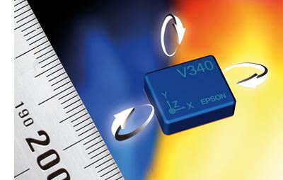 Ultra small robust 6-DOF IMU weighs less than 1 gram