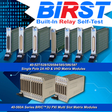 Launch of BIRST on LXI devices, fully compliant to the latest 1.3 specification