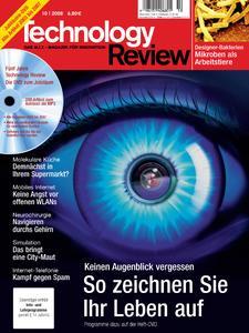 Das Titelbild der aktuellen Technology-Review-Ausgabe 10/2008