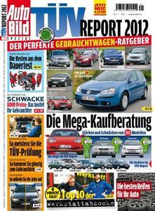 Ab 16. Dezember an den TÜV SÜD Service-Centern sowie im Handel erhältlich: der TÜV Report 2012