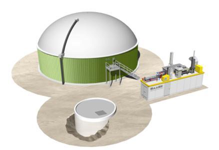 Die neue HAASE Biogas-Energiezentrale