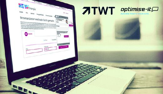 TWT Kunde NEW profitiert von Live-Chat-Lösung Realperson® der optimise-it
