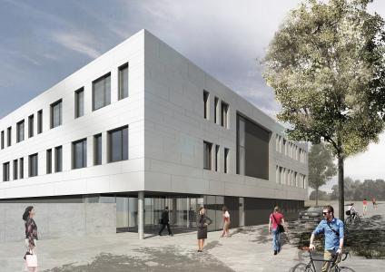Neuer Technologie- und Produktionskomplex der JAT (Bildquelle: pbr Planungsbüro Rohling AG, Büro Jena)