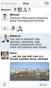 Teamwire Secure Enterprise Messaging 3