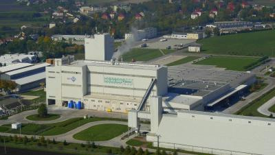 Dolina Nidy Sp.z.o.o. extends its gypsum production capacity in Pińczów , Poland. For even better flexibility in raw material use, Grenzebach integrates a new FGD flash drying system into the existing calcination plant building. Source: Grenzebach