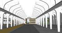 Für Stadtwerke: Integration eines Ersatzteillagers für Schienenfahrzeuge in denkmalgeschütztes Gebäude