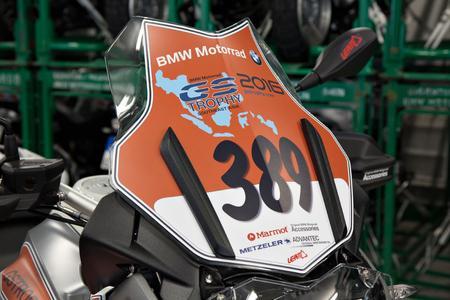 BMW Motorrad International GS Trophy Southeast Asia 2016, 114 BMW R 1200 GS für Thailand (12/2015)