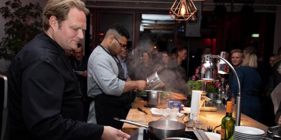 Küchenparty mit Björn Freitag bei Laudert Connect in Hamburg