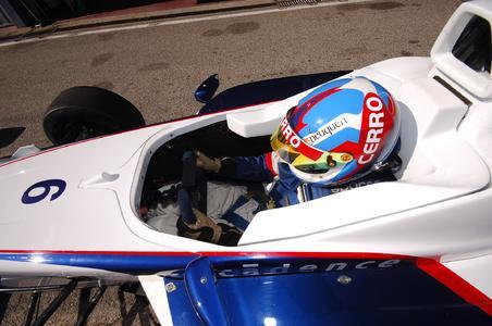Formula BMW Talent Cup - Cockpit des FB02
