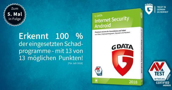 Volle Punktzahl und 100 Prozent Malware-Erkennung im aktuellen Vergleichstest von AV-TEST.
