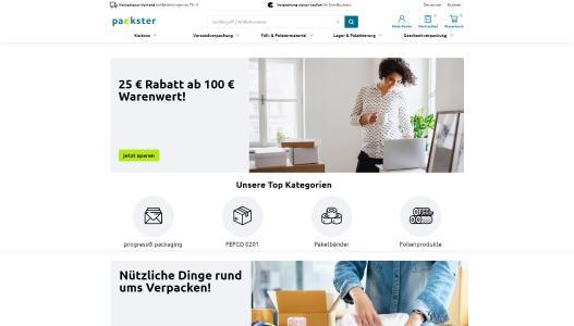 Verpackungen online: Der neue B2B-Shop packster.de startet mit Software von novomind / Copyright novomind