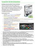 [PDF] Prospekt: TurboCAD 2D 3D 2018