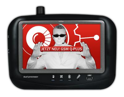 Das GPSauge IN1 verfügt seit August 2008 über einen Anschluß für eine externe GSM Quadband-Antenne. Es beherrscht die Disziplinen GPS Ortung, Kommunikation, Datenaustausch, Navigation und Entertainment.
