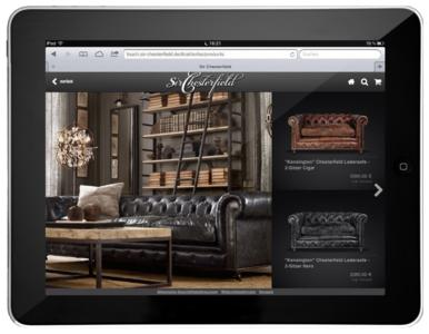 CouchCommerce Web-App Screenshot Sir Chesterfield