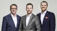 Die neu formierte Geschäftsführung der KEMPER GmbH freut sich über das erfolgreichste Geschäftsjahr der Unternehmensgeschichte. Im Bild (v.l.n.r.): Michael Schiller, Björn Kemper, Frederic Lanz. (Foto: KEMPER GmbH)