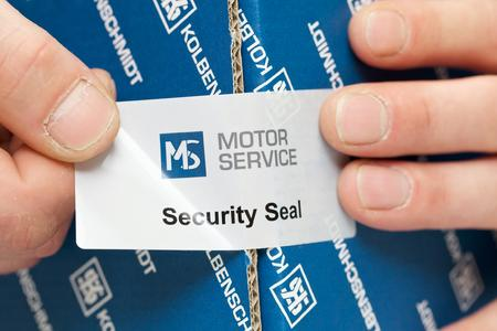 Motor Service unveils new counterfeit-proof packaging