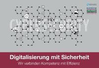 """Grafik:  Unter dem Motto """"Digitalisierung mit Sicherheit"""" stellt euromicron auf der it-sa 2019 ganzheitliche Sicherheitskonzepte vor. (© telent GmbH)"""
