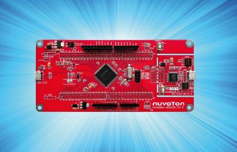 ARM Cortex-M23 Low-Power µC von Nuvoton