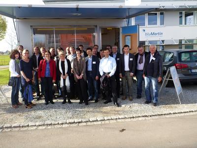Große Bühne: bluMartin-Handelspartner trafen sich zur Experten-Schulung in Weßling