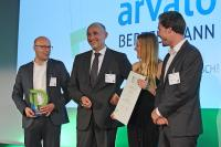 The Arvato Systems team is pleased about the Digital Leader Award (Photo: IDG/Foto Vogt )
