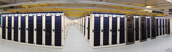 Blick ins Frankfurter Datencenter von MICROS-Fidelio
