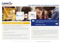 [PDF] Layer2 Business Data List Connector Flyer