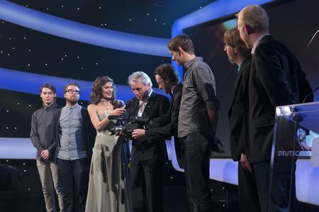 Die Preisverleihung fand im Rahmen der Gala des Deutschen Kamerapreises am 16. Juni in Köln statt (Foto: WDR/Bernd Maurer)