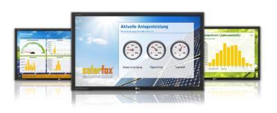 Solar Anzeigetafel