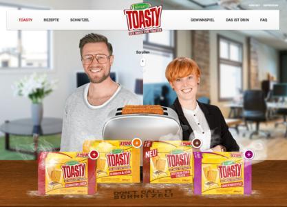 Relaunch: TWT schmeckt toasty.de