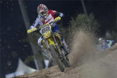 Team Suzuki Gets Set for Mxgp of Thailand