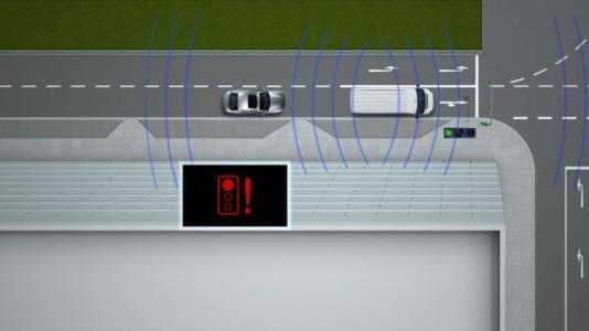 Der Ampelphasenassistent (Rotlichtwarnung) von BMW ConnectedDrive - eine Car-2-X Technologie (10/2011)