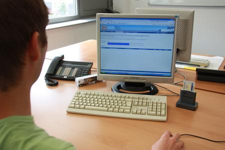 Disponent beim Download von Fahrer- und Fahrzeugdaten
