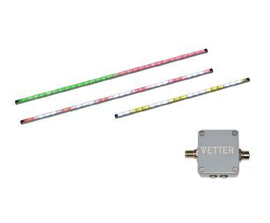 SmartFlash LED-Bänder erhöhen die Sichtbarkeit von Staplern, Hubwagen, Hebebühnen, Fahrerlosen Transportsystemen, ...