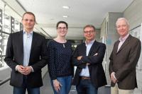 (ein Teil der) Lehrenden im weiterbilden, berufsbegleitenden Master HRM / Foto: Hochschule Koblenz, Lehrende im Fernstudium HR Management (M.A.)