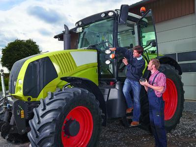 Bei winkler werden Landwirte und Lohnunternehmer rund um ihren Fuhrpark kompetent beraten