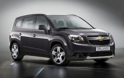 Der neue Familien Van Chevrolet Orlando