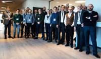 Teilnehmer am Kick-off des Forschungsvorhabens SEAMLESS (Foto: SimPlan AG)