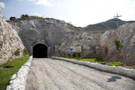 Das Portal der Platosa-Mine; Foto: Excellon Resources