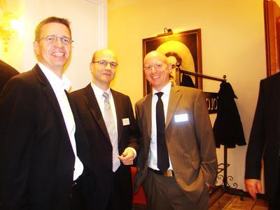 Matthias Ganz ist der Vertriebsleiter der datadirect. Ein gefragter Mann. Wie der Jurist Prof. Dr. Stefan Ernst (Bm.)