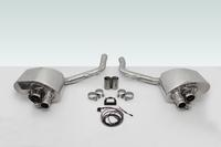 TECHART Exhaust System Sport with valve-control