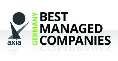 Piepenbrock gewinnt Axia Best Managed Companies Award