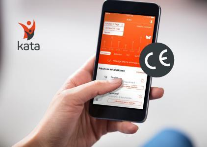 Weltweit einzigartige Gesundheits-App Kata® erhält CE Zertifizierung als Medizinprodukt