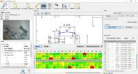 Das verbesste MESproCAQ-Modul liefert alle qualitätsrelevanten Informationen zu einem Bauteil auf einen Blick (Bildrechte: Geovision GmbH & Co. KG, Wagenhofen)