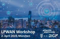 Atlantik Elektronik LPWAN Workshop mit Telekom Deutschland und Digi International