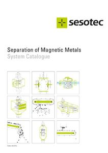 Now Available - The New Sesotec Magnet Catalogue!