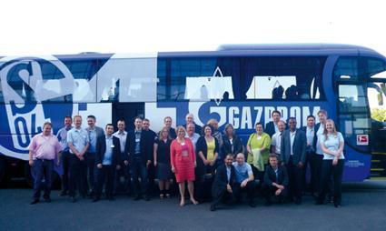 Kunden und Mitarbeiter der tegos GmbH Dortmund